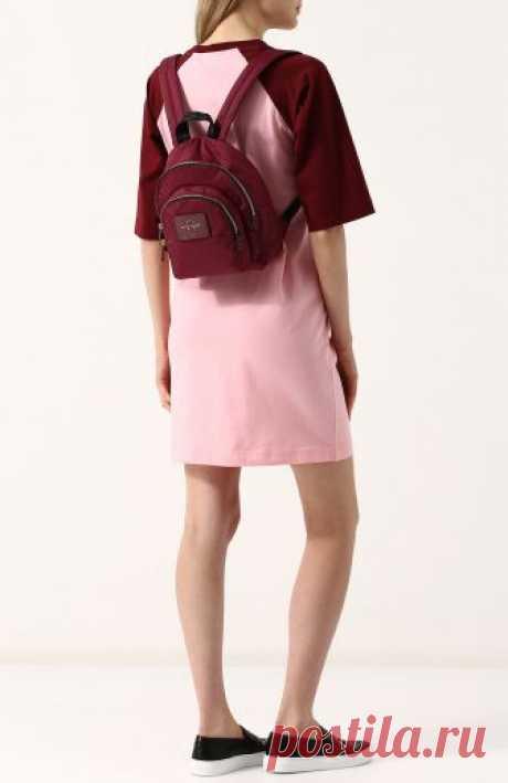 Женский бордовый рюкзак double pack MARC JACOBS — купить за 15950 руб. в интернет-магазине ЦУМ, арт. M0013608