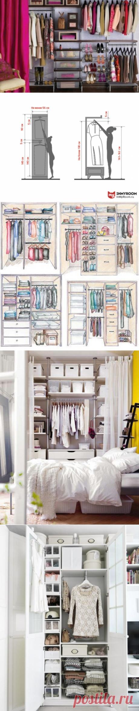 Гид InMyRoom: 8 полезных постов для обустройства идеальной гардеробной   Свежие идеи дизайна интерьеров, декора, архитектуры на InMyRoom.ru