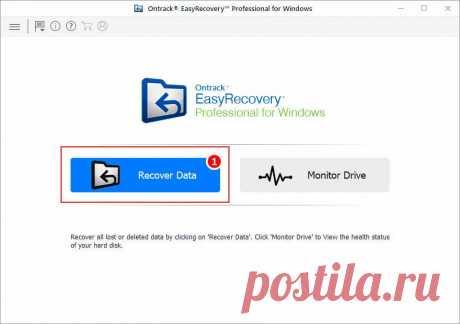 Восстановление данных с SD-карты с помощью Easy Recovery Professional
