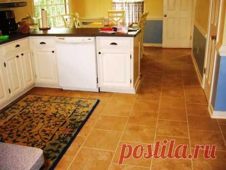 Почему кафельная плитка на кухонном полу вредна и опасна? | Дачный СтройРемонт | Яндекс Дзен
