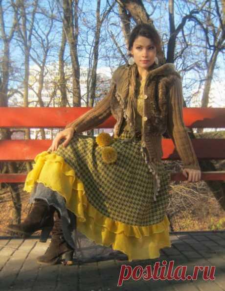 Одежда в стиле бохо. Осень-весна