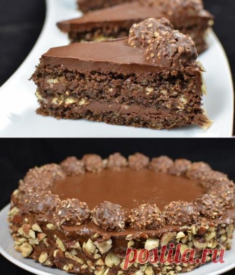 Как приготовить торт ferrero rocher - рецепт, ингредиенты и фотографии