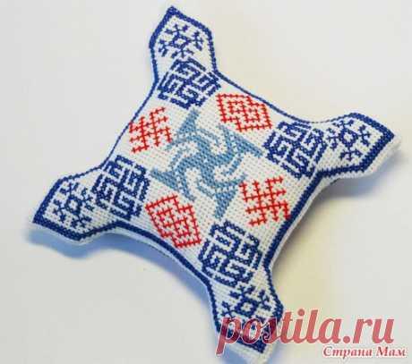 Вяжем и вышиваем славянские схемы.