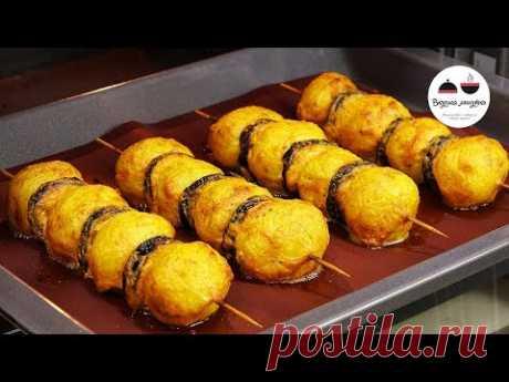 Потрясающее ГОРЯЧЕЕ блюдо на новогодний стол из самых простых продуктов!