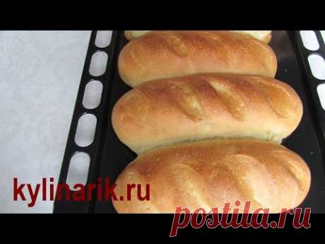 Bread recipe! White loaf in an oven! HOME-MADE bread! Baking of bread! Dough for bread from kylinarik.ru - YouTube