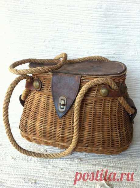 Плетеные сумки. Идеи для вдохновения.
