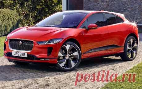 Электрический кроссовер Jaguar I-Pace 2019 - цена, фото, технические характеристики, авто новинки 2018-2019 года