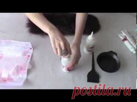 Как покрасить мех в домашних условиях ?