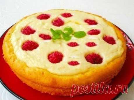 Как приготовить пирог-ватрушка - рецепт, ингредиенты и фотографии