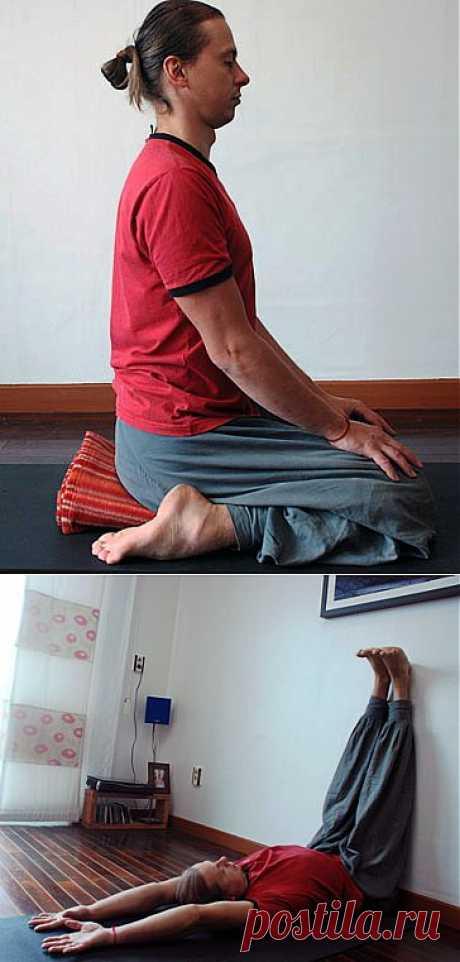 Йога терапия при пяточной шпоре