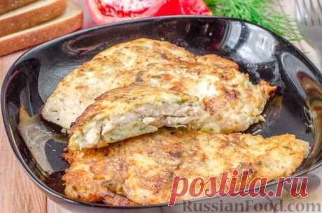 Самый сытный ужин для любимого мужчины: куриные отбивные в картофельном кляре