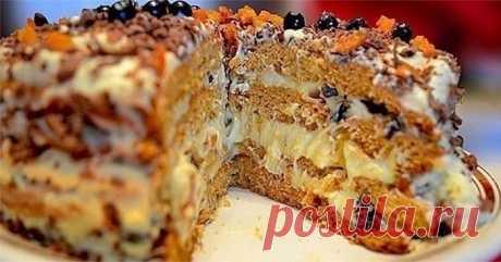 Рецепт простого, но очень вкусного торта «Трухлявый пень» Торт получается изумительно вкусным, легким и в меру сладким. Готовится просто без каких-то заморочек. Крем тоже простенький – сметанный. Однако торт – настоящее объедение, перед которым невозможно устоять! Пальчики оближешь!