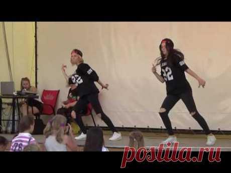 Street Dance: Настя и Даша - Dance School SOL. Summer Party 31.07.2016 - YouTube