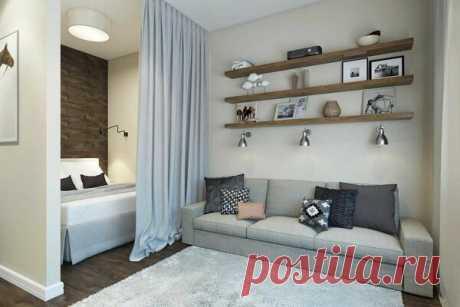 Как совместить гостиную, спальню и детскую в одной комнате? | flqu.ru - квартирный вопрос. Блог о дизайне, ремонте