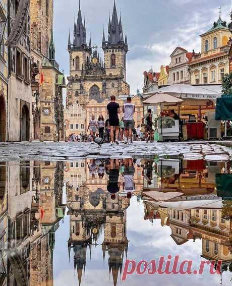 Старая добрая Прага...