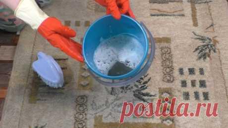 Бабушка поделилась проверенным способ очистить самый грязный ковер без усилий - Идеи для жизни - медиаплатформа МирТесен