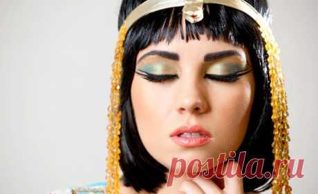 Las máscaras de Cleopatra: ¡nada no han inventado mejor!