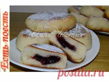 Жарю пирожки без масла на сковороде – пошаговый рецепт с фотографиями