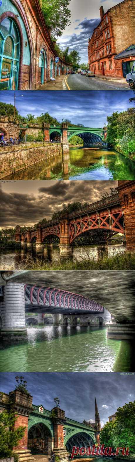 HDR снимки Глазго, фотограф Billy McDonald | Newpix.ru - позитивный интернет-журнал