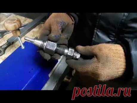 Заклёпочник резьбовых заклёпок, самодельный, без токарных работ.