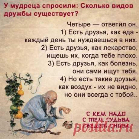 Дружба, как бриллиант: встречается редко, стоит дорого, а подделок — очень много.