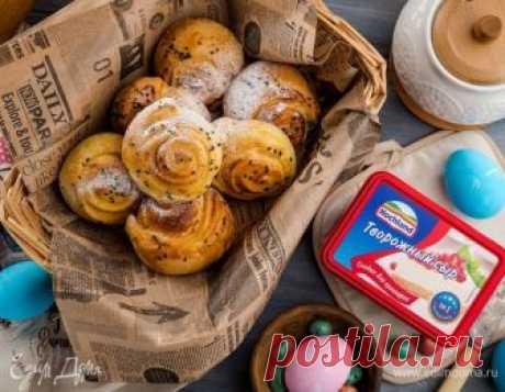 Нежные творожные булочки. Ингредиенты: творог 9%, творожный сыр, молоко | Кулинарный сайт Юлии Высоцкой: рецепты с фото