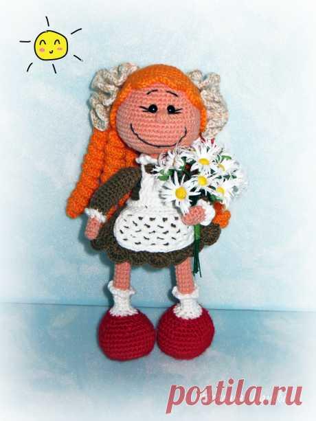 PDF Школьница. FREE amigurumi crochet pattern. Бесплатный мастер-класс, схема и описание для вязания игрушки амигуруми крючком. Вяжем игрушки своими руками! Куколка, кукла, doll, puppet, puppe, marioneta, fantoche. #амигуруми #amigurumi #amigurumidoll #amigurumipattern #freepattern #freecrochetpatterns #crochetpattern #crochetdoll #crochettutorial #patternsforcrochet #вязание #вязаниекрючком #handmadedoll #рукоделие #ручнаяработа #pattern #tutorial #häkeln #amigurumis #dolls