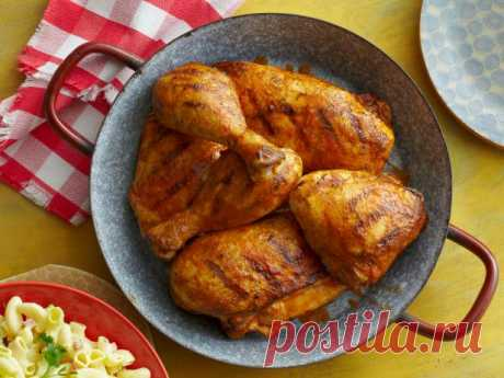 Курица-гриль в сухом маринаде рецепт | Гранд кулинар