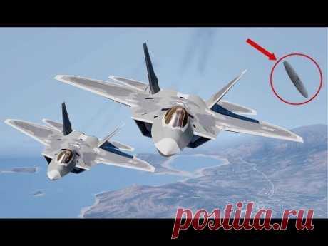 Мы бессильны против них! НЛО уничтoжил два истребителя ВВС США - YouTube