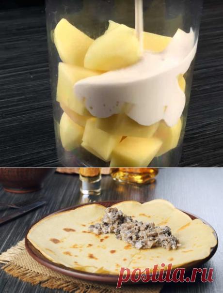 Готовим картофельные блины по старинному рецепту