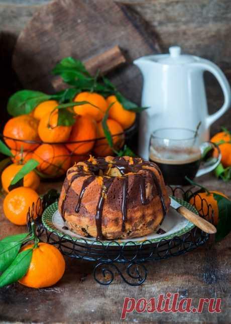 Мраморный кекс - something sweet to a cup of coffee — ЖЖ
