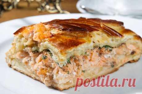 Король стола: рыбный пирог, вкус которого не оставит равнодушным .Если вы хотите удивить ваших домашних вкусным пирогом, то этот рецепт специально для вас.