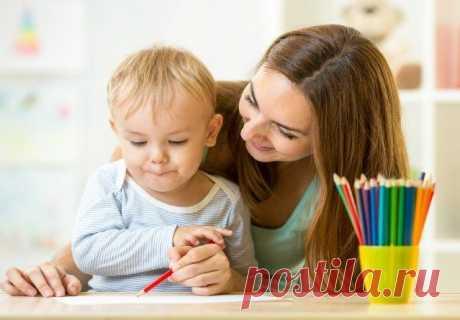 Развивающие игры с ребёнком / Малютка