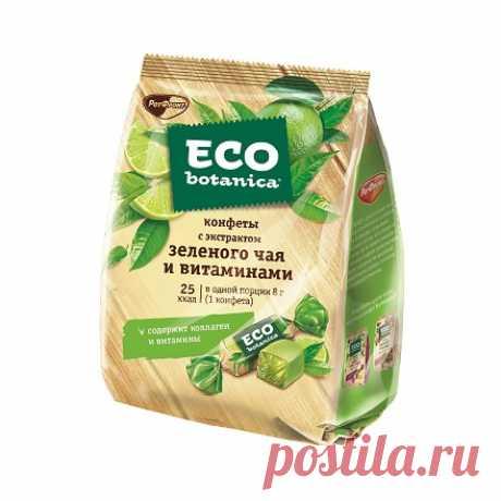 Купить желейные конфеты Eco Botanica в интернет магазине Алёнка Eco Botanica - это сладкая забота о здоровье. Нежные кубики мармелада с ароматом зеленого чая и лайма, витаминами и минеральными добавками. Купить онлайн с доставкой по России.
