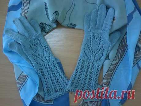 Изысканные изящные перчатки для золотых ручек