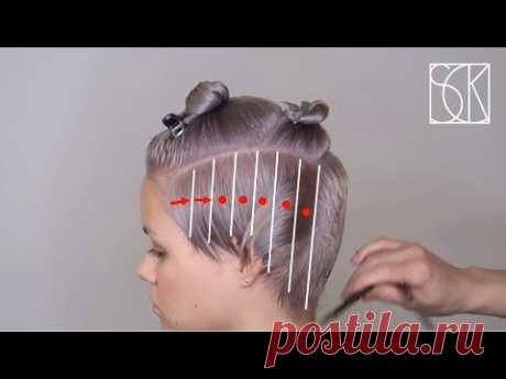 PIXIE HAIRCUT - tutorial by SANJA KARASMAN