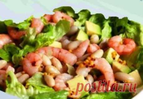 Салат из морепродуктов «Манхэттен» | Лакомка