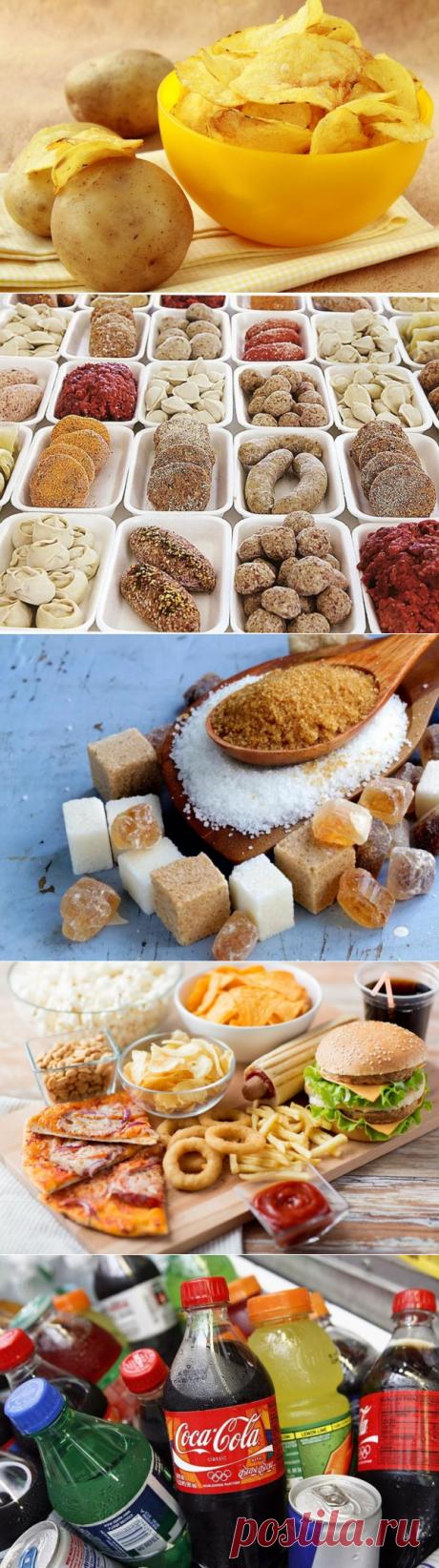 10 самых токсичных и опасных продуктов, которые не должны попадать к вам в рот
