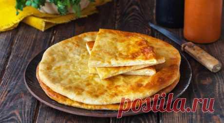 Осетинский пирог с картофелем и сыром, пошаговый рецепт с фото