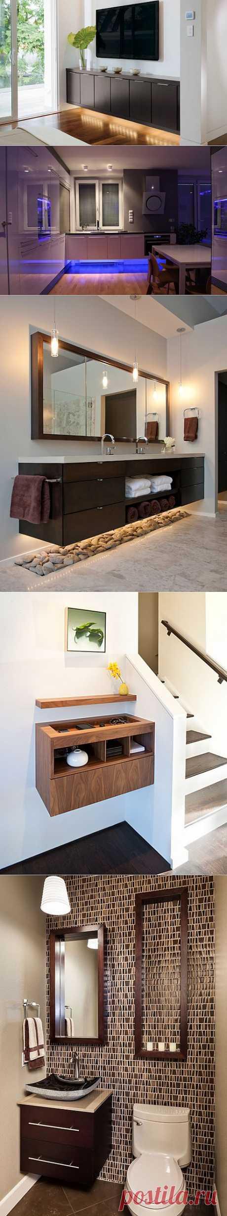 Мебель, бросающая вызов гравитации ~ Sweet home