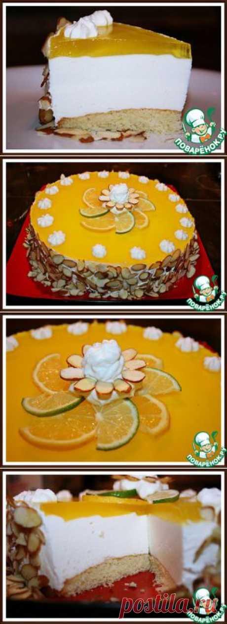 """Творожно-лимонный десерт """"Восторг"""" - кулинарный рецепт"""