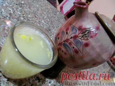 Рецепт: Лимонно-имбирный чай на RussianFood.com