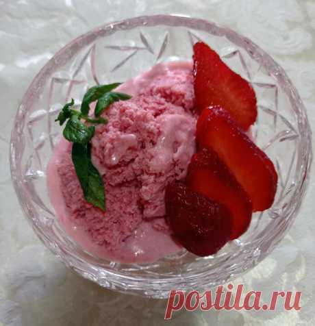 Десерты для диабетиков: Два мороженых - из клубники и манго   Рецепты для диабетиков   Яндекс Дзен