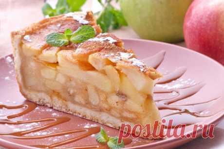Яблочная шарлотка по старинному французскому рецепту