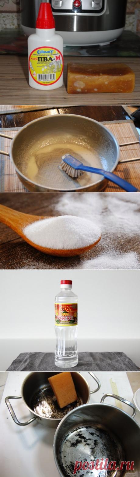 6 способов вернуть кастрюлям первозданные чистоту и блеск — Полезные советы