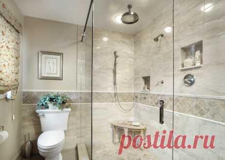 Душевая перегородка из стекла для ванной: интересные идеи для санузла в квартире (28 фото) - cozyblog - медиаплатформа МирТесен