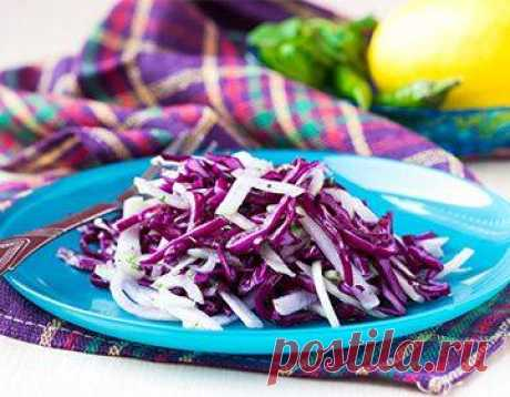 Салаты из красной капусты: 12 рецептов пошагово с уксусом, майонезом и маслом | Краше Всех