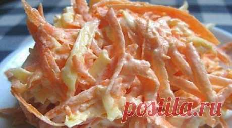 Легкий морковный салат с чесночком: витаминная бомба для тех, кто печется о весе за пару недель до... Когда подруга рассказывает о новом потрясающем салате, мой первый негласный вопрос: «С майонезом или без?» Как-то так повелось, что даже самые несовместимые продукты мы щедро заправляем майонезом и по…
