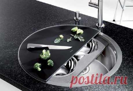 Необычные современные раковины для кухни — Pro ремонт