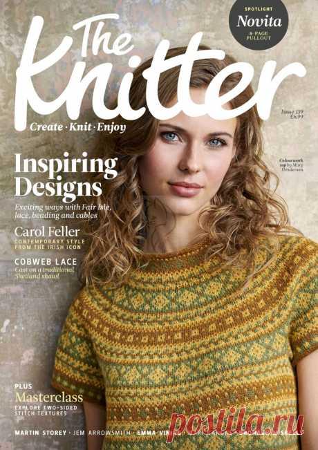 """Журнал """"The Knitter"""" №139 2019г (без реклам)"""